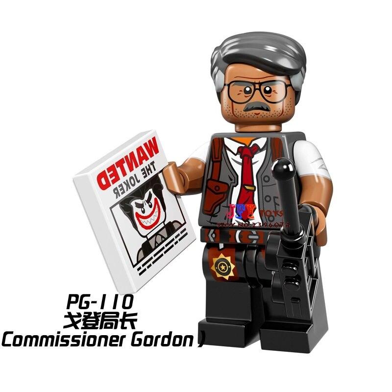 Single Sale Superhero Batman Movie Commissioner Gord Building Blocks Model Bricks Toys For Children