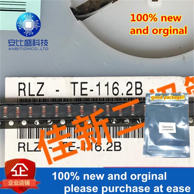 100pcs 100% New And Orginal RLZ6.2B 6.2V LL34 In Stock