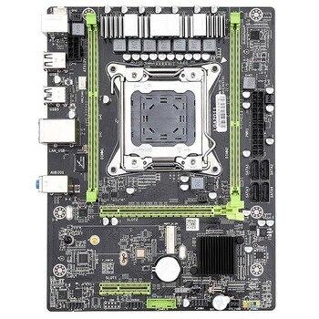 X79 Motherboard Lga2011 2-Channels Ddr3 Memory Ecc M.2 Usb2.0 Sata2.0 Pci-E Gaming Board for Xeon E5 Processor