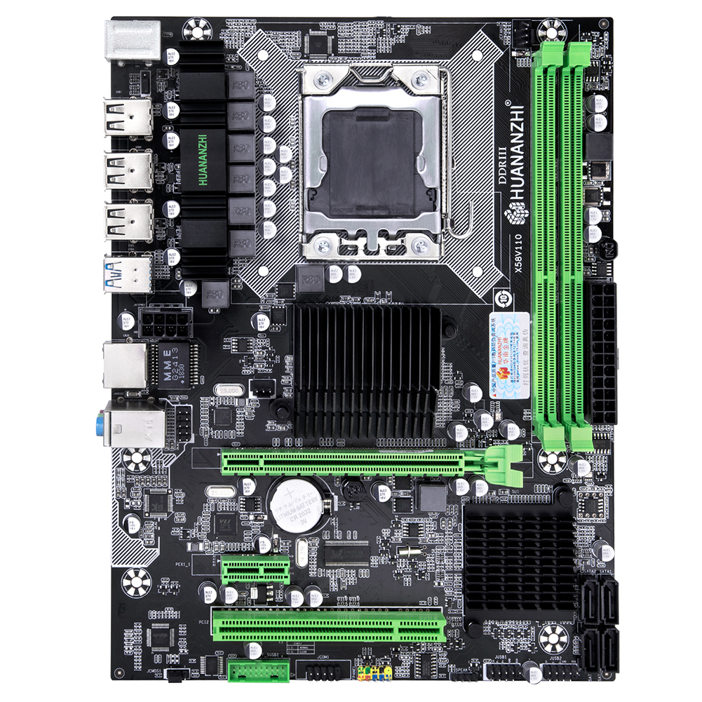 Discount motherboard on sale HUANANZHI X58 Pro motherboard for X5675 X5680 X5690 USB3.0 RAM DDR3 2 channels max 2*16G memory image