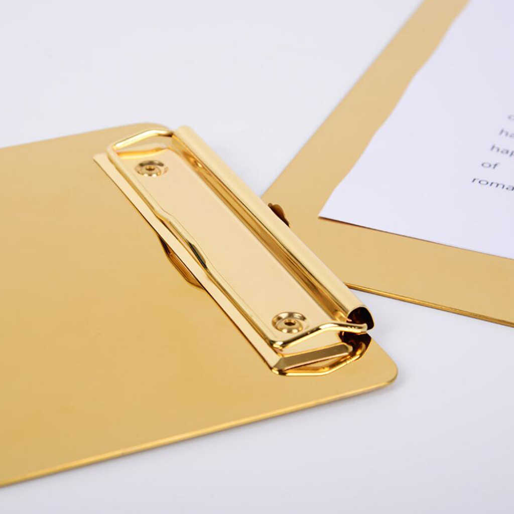 Appunti Heavy Duty In Acciaio Inox Lettera di Formato A Basso Profilo di Clip