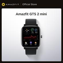 Amazfit-reloj inteligente GTS 2 Mini, dispositivo con GPS, Pantalla AMOLED, 70 modos deportivos, control del sueño, para Android e iOS, versión Global