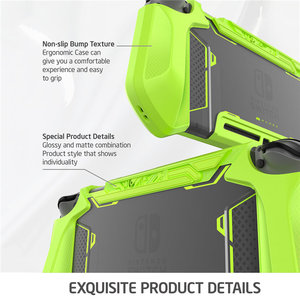 Image 3 - Dockable Case For Nintendo Switch Mumba Blade Series TPU Grip Cover Compatible with Nintendo Switch Console & Joy Con Controller