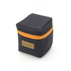 Image 5 - 1 pièces 7mm dépaisseur rembourré sac dobjectif de caméra antichoc Durable souple objectif de caméra pochette de protection sac étui pour objectif de caméra DSLR