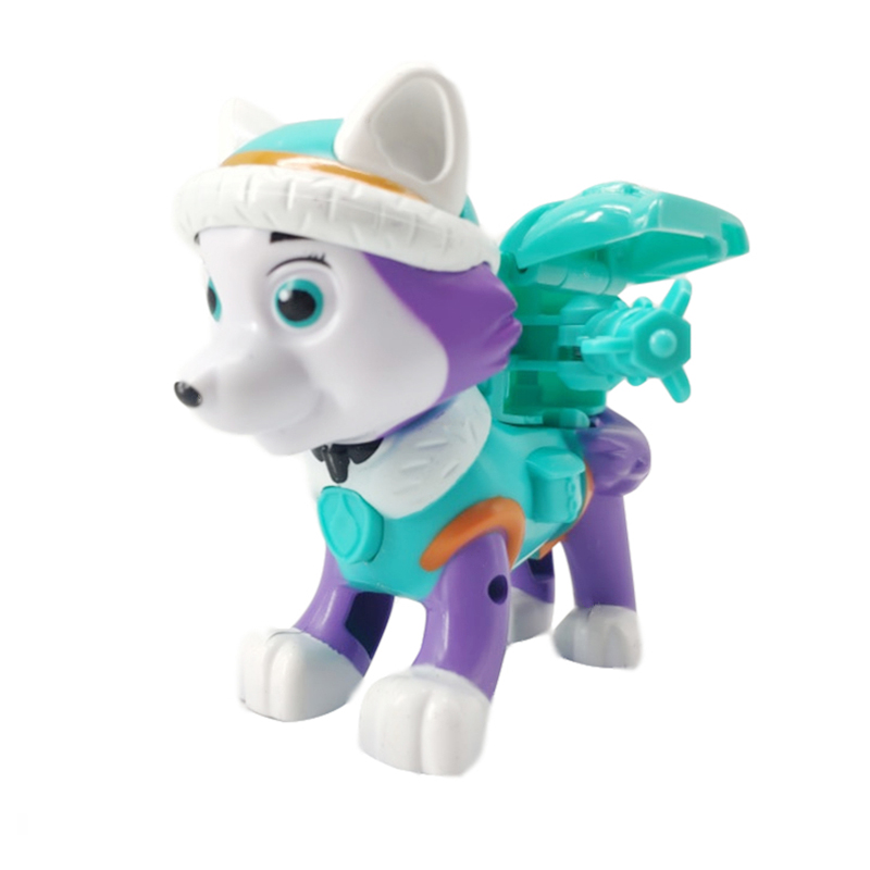 Paw Patrol Dog Everest Tracker Skateboard Puppies Snow Kids Toys Gift Figure Law