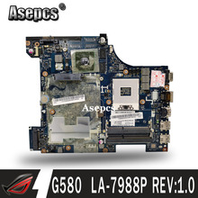 Laptop Lenovo G580 Mainboard PGA989 DDR3 LA-7981P for G6 G9 Rev:1.0 GT630M/GT635M Teste