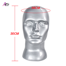 New Men Wig Stand Training Head Mannequin Without Ear Male Dummy Head Wigs Earphone Caps Display карты оракул u s games systems oracle cards dream
