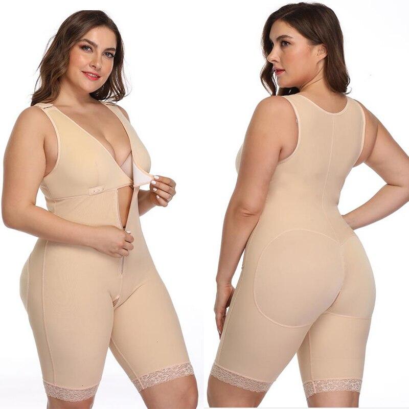 Plus Size Sexy Women Shapewear Bodysuit Modeling Strap Bodysuits Slimming Shaper Corset Waist Trainer Butt Lifter Underwear