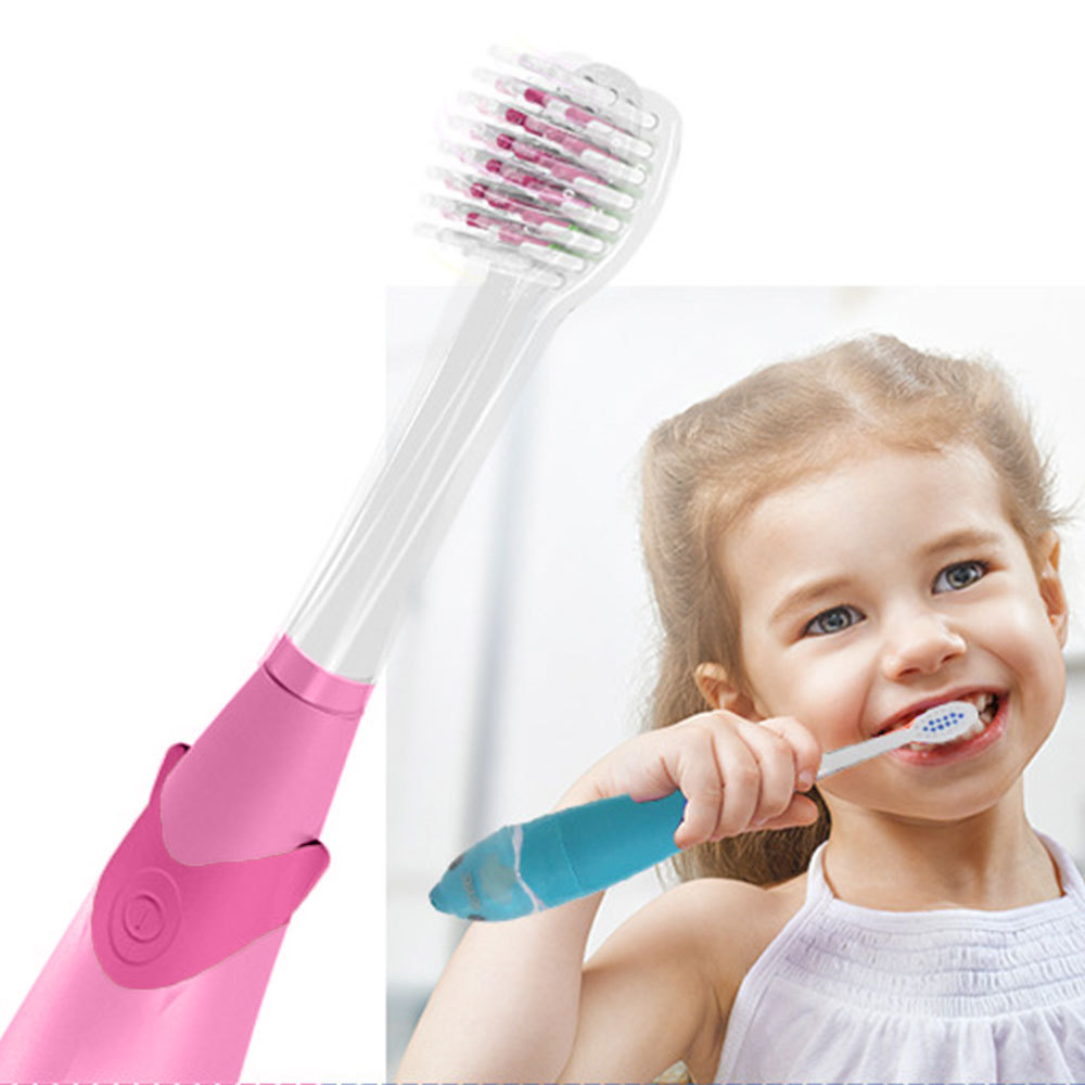 Kids Music Sonic Electric Toothbrush Soft Bristles Deep Clean High Quality Brush Head Smart Chip Healthy Whitening Best Gift image