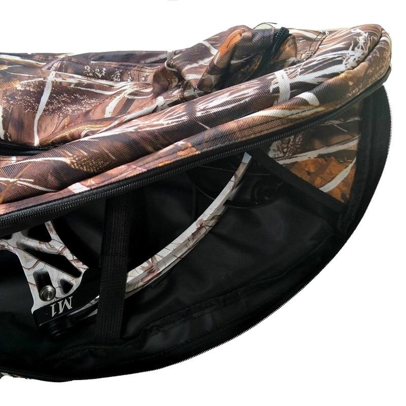 WOVELOT Archery Compound Bow Bag Bow Holder Arrows Tube Protect Bow Archery Case 115Cm