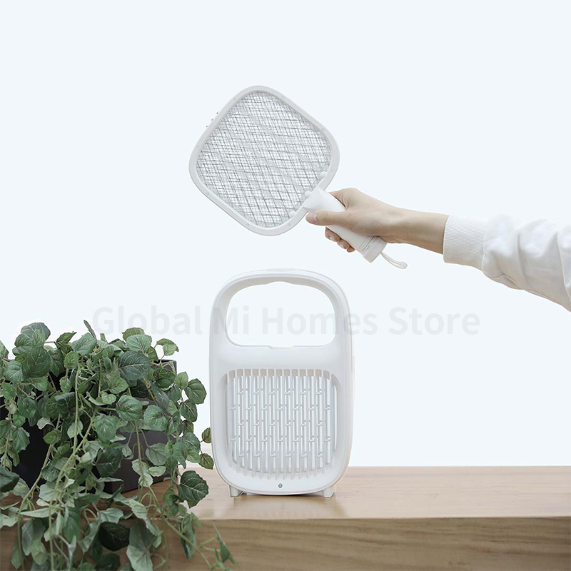 Image 5 - Xiaomi Yeelight Electric Mosquito Swatter Layers Mesh Electric Hadheld Mosquito Killer Insect Fly Bug Mosquito Swatter Killer 18-in Smart Remote Control from Consumer Electronics