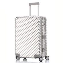 """Алюминиевый сплав Материал багаж на колёсиках, 2"""" 24"""" 2"""" 28"""" дюймов, ударопрочный чемодан для грузовиков, замок на колесиках"""