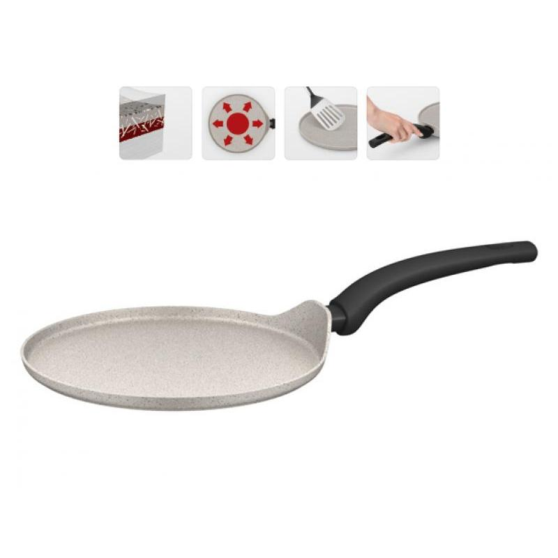 Frying Pan Griddle NADOBA, Marmia, 25 Cm