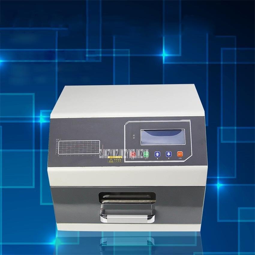 ZB3530HL Reflow Oven Infrared 3D Hot Air Soldering Reflow Oven Soldering Machine Small Reflow Soldering Oven 110V/220V 2400W
