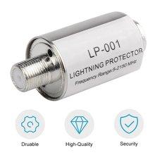 Lighting Arrester Coaxial Satellite TV Lightning Protectors