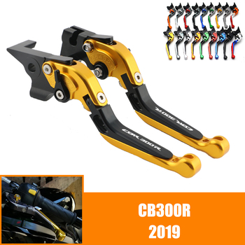 For HONDA CB 300R CB 300 R CB300R 2019 19 CNC Motorcycle Adjustable Brake Clutch Lever Levers Folding image