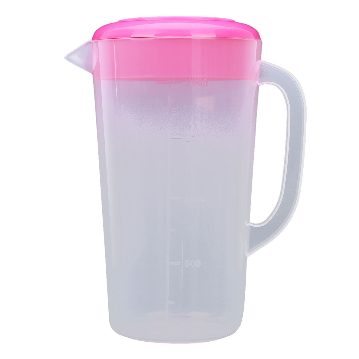 Large Capacity Food Grade Plastic Measuring Water Pitcher Jug Kitchen Pitcher Water Filters with Lids for Ice Tea Juice Beer