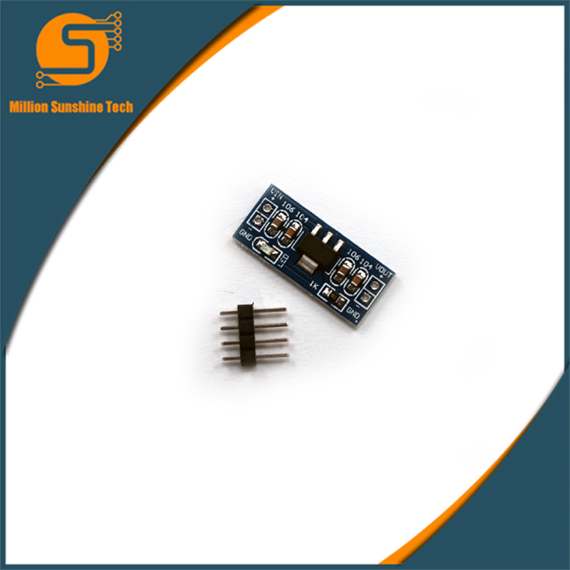 5PCS/Lot AMS1117 3.3V DC-DC Step-Down Power Supply Module For Arduino Bluetooth Raspberry Pi