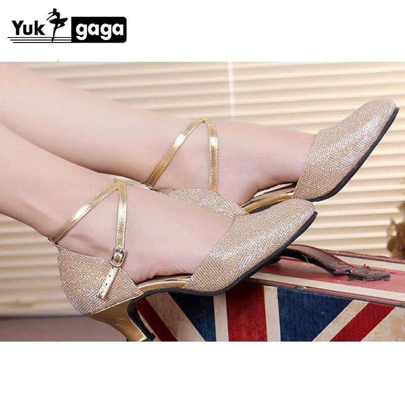 Hot Selling Women's Tango/Ballroom/Latin Dance Dancing Shoes Heeled Salsa Professional Dancing Shoes For Girls Ladies 3.5cm/5cm