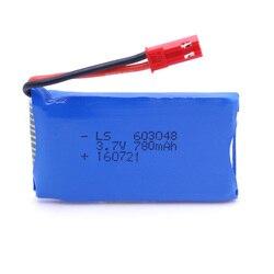 3.7V 780mAh 20C Li-po Battery for Wltoys V636 V686 V686G V686K JRC V686 Quadcopter Spare Parts
