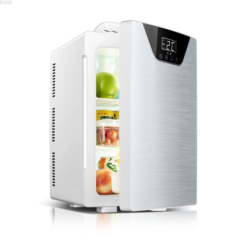Three Core CNC Car Refrigerator Mini Refrigerator Car Home Dual Purpose Refrigeration Mini Fridge  Refrigerators Car Fridge