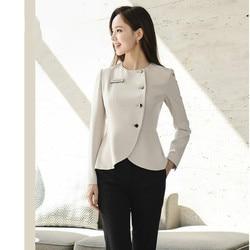 Autumn 2019 New Professional Women's Suit Suit Company Front Platform Long Sleeve Slim Fit Korean Version Suit Woman
