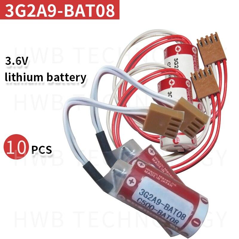 2 pièces Original nouvelle Date C500-BAT08 3G2A9-BAT08 3.6 V PLC batterie au