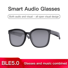 E30 BT5.0 Smart glasses call listen music earphone glasses 2-in-1 intelligent high-tech sunglasses, suitable for Android and IOS