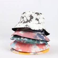 Панама Солнцезащитная унисекс Повседневная шапка с принтом круглая