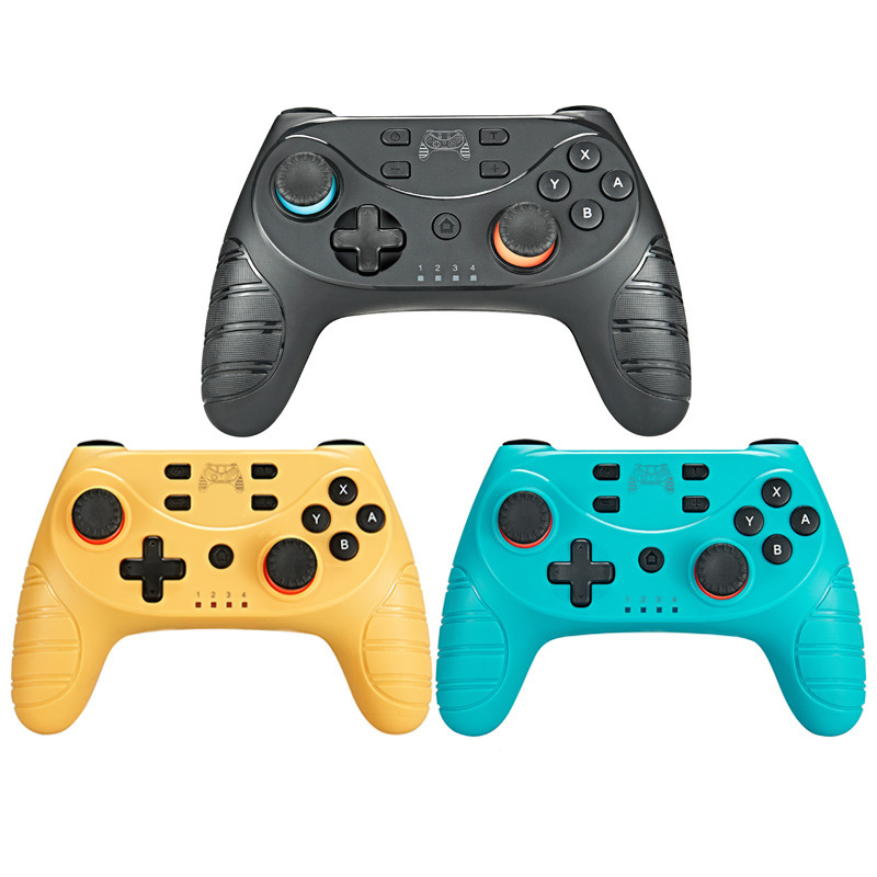 Wireless Vibration <font><b>Gamepad</b></font> <font><b>Controller</b></font> for Switch <font><b>Bluetooth</b></font> Joypad <font><b>Remote</b></font> <font><b>Joystick</b></font> for Switch Console with Gyro Axis Function image