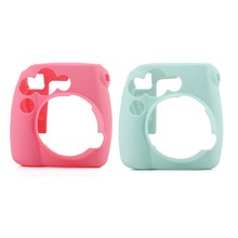 2x Camera/Video Bags funda protectora para Polaroid Mini 8 1 Uds Casual Classic Noctilucent (rosa roja y azul claro)(China)