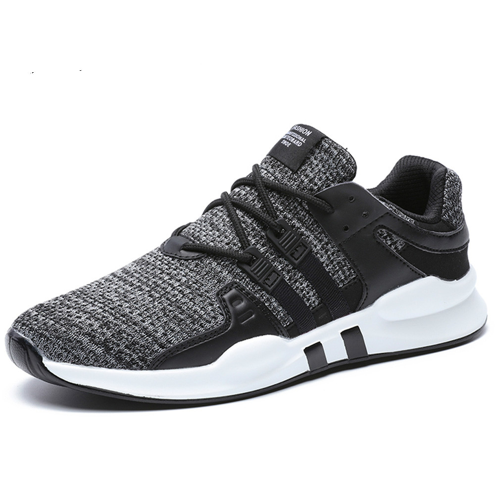 Breathable Men Casual Shoes Anti-Odor Height Increasing Shoes Men Hard Wearing Sneakers Sweat Absorbant Men Shoes