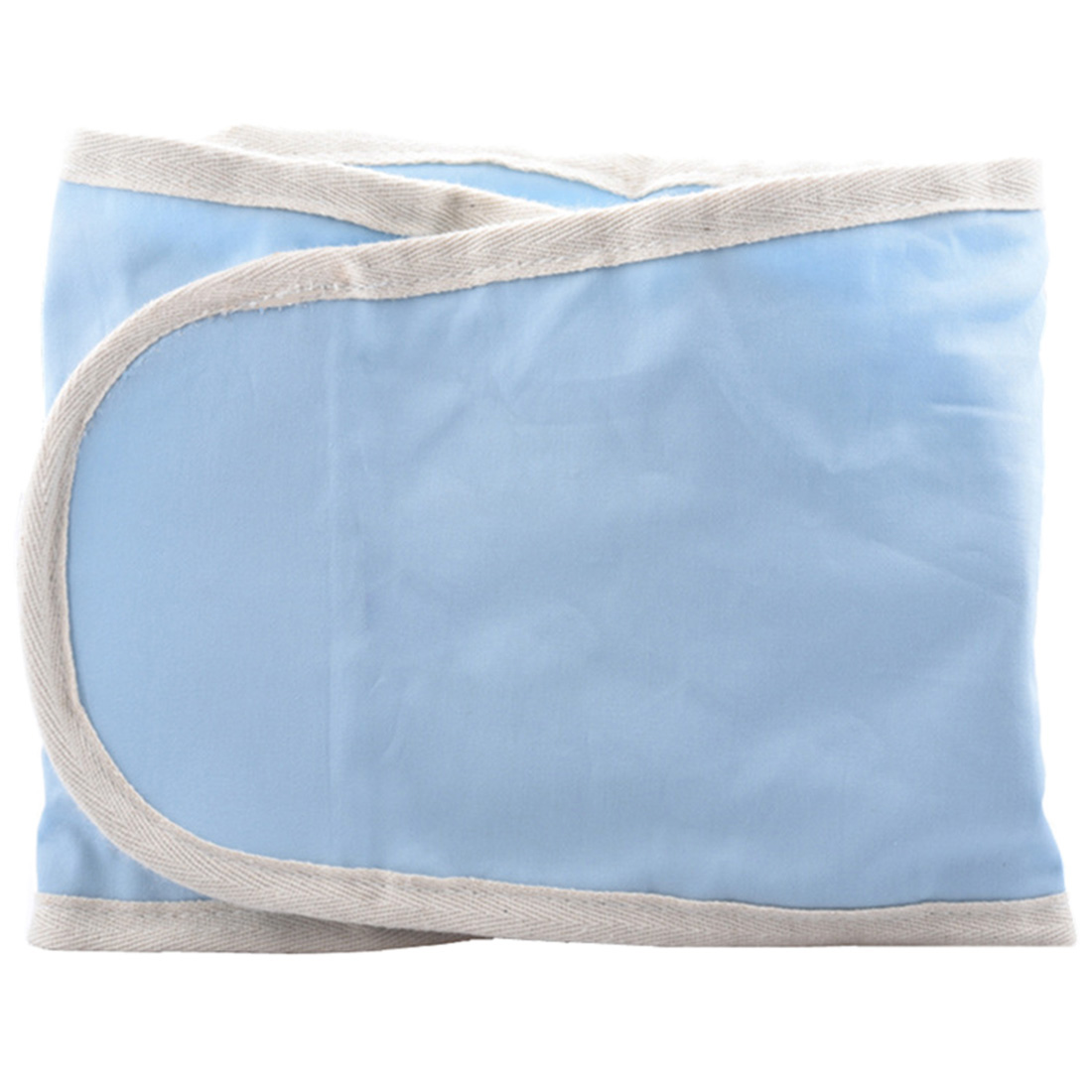 Hot Baby Arms Only Swaddle Strap Pure Cotton Swaddle Blanket For Safe Sleeping Soft Newborn Blankets Bath Gauze - Grey Blue Pink