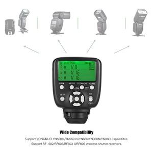 Image 3 - YONGNUO disparador de Flash inalámbrico YN560 TX II, controlador trasero para Yongnuo YN 560III YN560IV RF 602 II para Canon Nikon