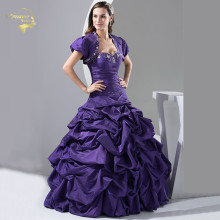 Ball-Gown Quinceanera-Dresses Purple 15-Years Beading Sweetheart Vestidos-De-Quinceanera-Oq3389