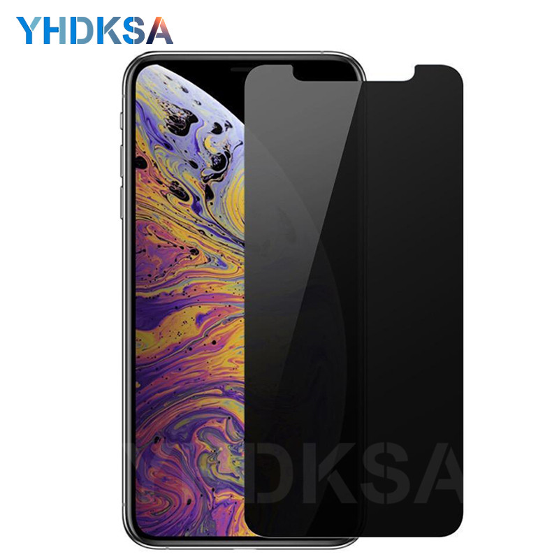 Anti Spy Tempered Glass For iPhone X XR XS 11 Pro Max Privacy Screen Protector For iPhone 8 7 6 6S Plus 5 5S SE Protective Film
