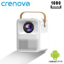CRENOVA Mini projektor LED ET30 1080P Full HD Android Wifi 3D kino domowe przenośny projektor wsparcie 4K LED projektor wideo z domu tanie tanio Instrukcja Korekta Auto Korekty CN (pochodzenie) Projektor cyfrowy 4 3 16 9 X 1 2 125 Ansi Lumens 1280x1080 dpi 3300 Lumenów
