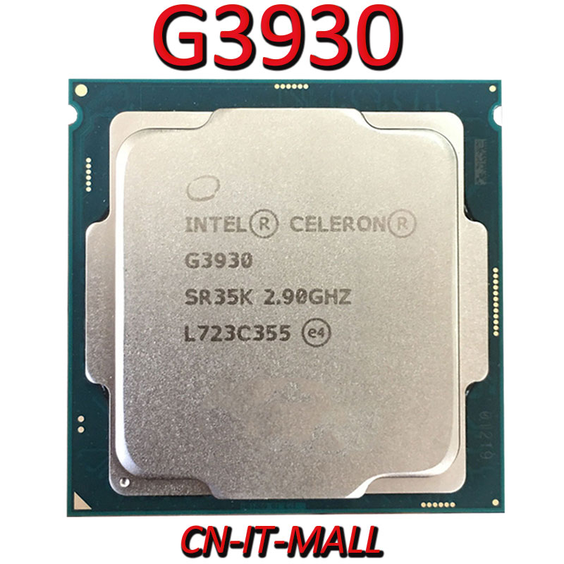 Intel Celeron G3930 CPU 2.9G 2M 2 Core 2 Thread LGA1151 Processor
