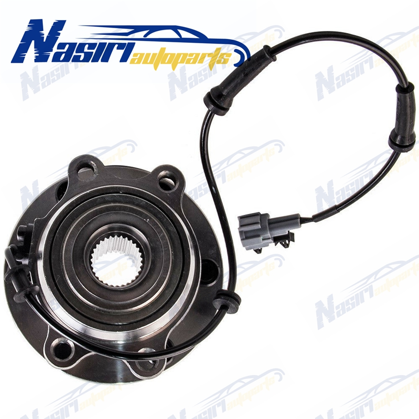 Front Wheel Bearing Kit Hub Assembly For Nissan Navara