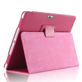 """PU Leather Flip Stand Cover For Samsung Galaxy Note 10.1"""" Magnetic Smart Tablet Case N8000 N8010 N8020 Pencil Holder Funda Capa"""