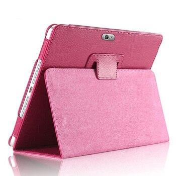 """Pu Leather Flip Stand Cover Voor Samsung Galaxy Note 10.1 """"Magnetische Smart Tablet Case N8000 N8010 N8020 Potlood Houder funda Capa"""