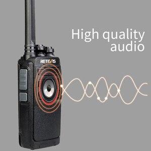 Image 3 - 10 ps retevis rt28 portátil walkie talkie vox mãos livres ctcss/dcs usb de carregamento frequência ultraelevada portátil rádio de 2 vias comunicador