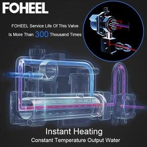 Image 4 - FOHEEL 스마트 변기 지능형 비데 히트 시트 드라이 에어 전기 비데 화장실 커버