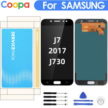 5.5» Display for SAMSUNG Galaxy J7 Pro 2017 J730 J730F LCD Display with Touch Screen Digitizer Assembly Brightness Control