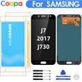 5.5 ''affichage pour SAMSUNG Galaxy J7 Pro 2017 J730 J730F écran LCD avec écran tactile numériseur assemblée contrôle de la luminosité