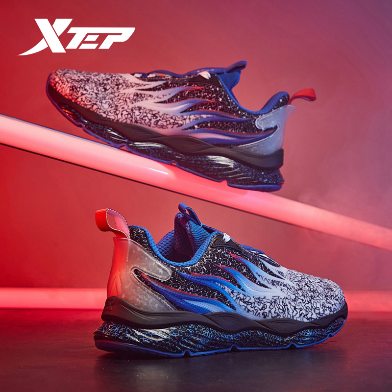 Xtep (Fire Shoe 22) Men Running Shoes Autumn Sports Sneakers Shoes Sneakers 981419110528