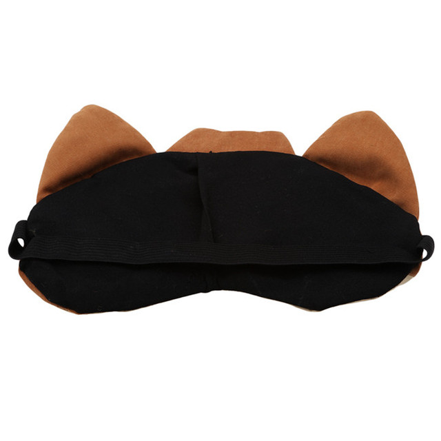New Arrivals Korean Cute Eye Patch Soft Padded Sleep Travel Shade Cover Rest Relax Sleeping Blindfold Eye Care Tools Eye Mask 3