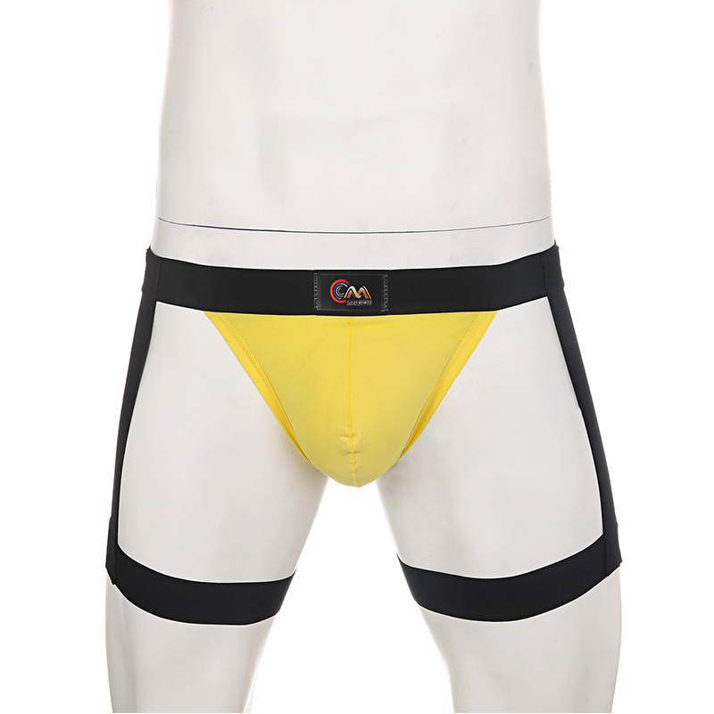 <font><b>Sexy</b></font> Strap Leg Belt Underpants Hombre <font><b>Erotic</b></font> Costume <font><b>Underwear</b></font> <font><b>Men</b></font> Briefs Lingerie Elastic Harness Fetish Male Panties image