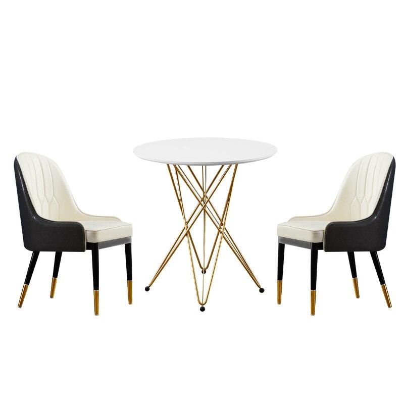 Nordic Dining Chair Cheap Restaurant Chair Creative Moden Living Room Furniture Gold Metal Chair Sillas Comedor Cadeira