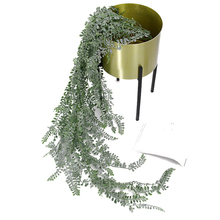 Artificial Plant Wealth Grass Wall Hanging Ceiling Home Wedding Simulated Wall Garden Decorating Flower Vine Green Leaf Plants